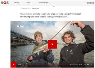 Streetfishing in NOS Zomercolumn (video)