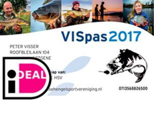 VISpas 2017 is in het land!