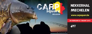 Aanstaand weekend: bomvolle Carpsquare Belgium in Mechelen (B)
