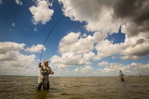 Dutch Women Fly Fishers in training voor WK