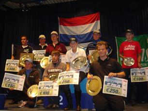 Einduitslag Nationale Topcompetitie 2009