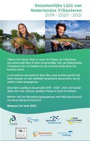 Gezamenlijke Lijst van Nederlandse VISwateren 2019 - 2020 - 2021