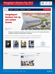Hengelsport Outdoor Fair 2013: nieuwe website