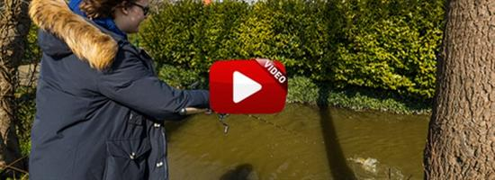Hoppend op zeelt in VISblad TV