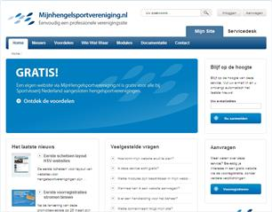 HSV-websites: eerste schetsen layout