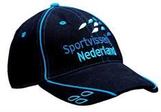 Nieuwe donkerblauwe Sportvisserij Nederland cap