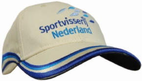 Sportvisserij Nederland Cap Beige