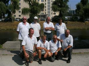 Team WK Veteranen 5e plaats behaald