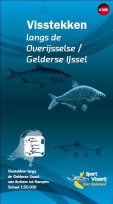 Visstekken langs de Overijsselse/Gelderse IJssel