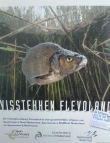 Visstekkenkaart Flevoland