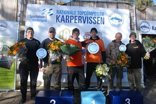 Winters einde Nationale Topcompetitie Karpervissen
